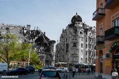 Budapest - Széna tér - Hungary 1945 - 2016 Budapest, Street View