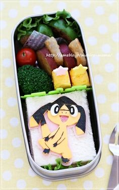 Pokemon sandwich bento