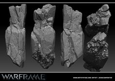 Rock Pillar Sculpt - Warframe, Jesse Carpenter on ArtStation at https://artstation.com/artwork/rock-pillar-sculpt-warframe