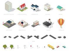 Isometricmaps : des éléments isométriques pour réaliser vos plans de villes