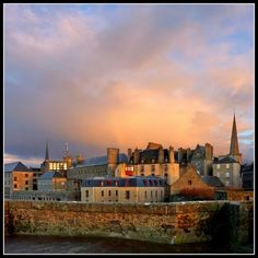 Walk the battlements to have great sea and city views.  The wind can be brisk. Saint Malo, Normandy - France: the point of departure for many famous sailors...
