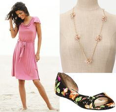 date night- great necklace for that outfit!