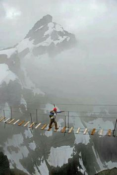 Sky Walking at Mt. Nimbus, Canada