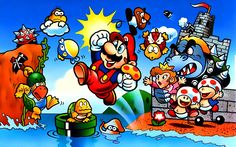 TIL that Shigeru Miyamoto mentioned his inspiration for creating Mario Bros. was from the game he helped developed titled Spartin X (Kung-Fu Master in the U.) a tie-in to a Jackie Chan movie titled Wheels on Meals. Super Mario Bros, Super Mario World, Super Mario Brothers, Super Mario Kunst, Super Mario Games, Video Game Art, Video Games, National Video Game Day, Mario Y Luigi