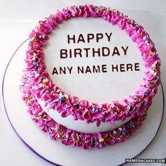 Name Birthday Wishes Decent Cake With Sunflowers zeenat