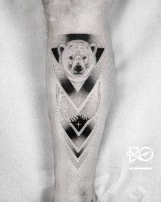 Tattoo uploaded by Robert Pavez Dot Tattoos, Bear Tattoos, Dot Work Tattoo, Animal Tattoos, Sleeve Tattoos, Tatoos, Sister Tattoos, Friend Tattoos, Tattoos For Guys