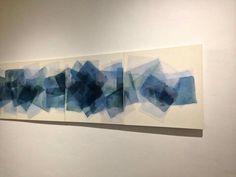 V1-V4 12X4  Particular Mixed media on canvas  #art #installation  2013  www.raffaellalavena.com