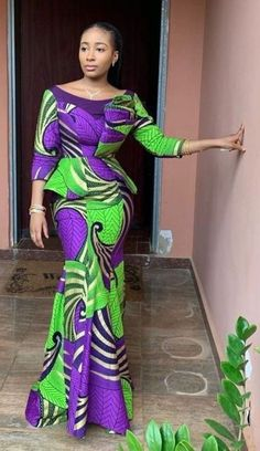 10 Pictures: Latest Ankara fashion styles - Beautiful African Designs - Best African Fashion Ankara And Aso Ebi Styles in 2020 Best African Dresses, African Traditional Dresses, Latest African Fashion Dresses, African Print Dresses, African Print Fashion, African Attire, Ankara Fashion, African Prints, Ghana Fashion