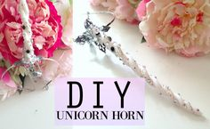 EASY!! DIY Unicorn Horn Headpiece Tutorial | Pinterest Inspired - YouTube