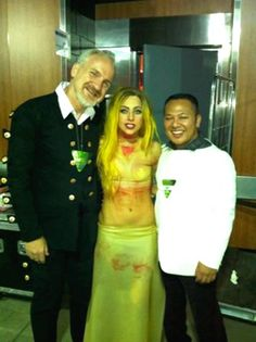 Celebrity Chef Art Smith in Daniel Sudar's Suit and Lady Gaga