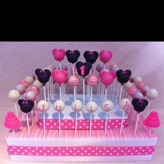 Minnie Mouse Popcupz Birthday cake