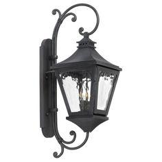 ELK LIGHTING Manor 2-Light Charcoal Outdoor Sconce