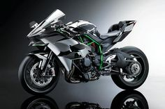 The 2015 Ninja H2R will generate a ludicrous 300 horsepower from a supercharged engine—and it will be against the law to drive it on the streets