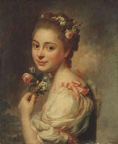 Alexander Roslin Painting - Portrait of the Artists Wife Marie Suzanne, nee Giroust by Alexander Roslin Rococo Painting, Canvas Art Prints, Fine Art Prints, L'art Du Portrait, Portrait Paintings, Francisco Goya, Classic Paintings, Classical Art, Art Images