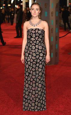 Saoirse Ronan from 2016 BAFTA Film Awards: Celebrity Arrivals | E! Online