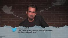 That's funny: Colin Farrell could barely get the words out he was trying so hard not to la...