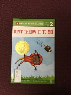 This children's book will keep you guessing. Will they ever throw the ball to Mo?