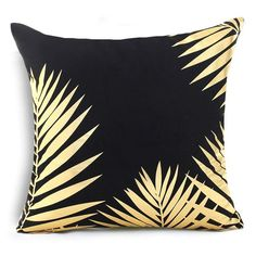 Bronzing cushion cover cushion decorative cushions home decor throw pillows chair almofadas para sofa pillowcase cover cojines Black Throw Pillows, Throw Pillow Cases, Pillow Covers, Cushion Pillow, Sofa Throw, Accent Pillows, Christmas Cushion Covers, Christmas Cushions, Gold Decorative Pillows