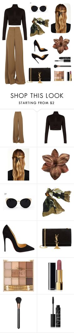 """""""Untitled #6"""" by franchescamak ❤ liked on Polyvore featuring STELLA McCARTNEY, BCBGMAXAZRIA, Natasha Accessories, Una-Home, Borbonese, Christian Louboutin, Yves Saint Laurent, Chanel, MAC Cosmetics and NARS Cosmetics"""