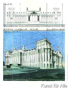 Christo und Jeanne-Claude - Reichstag II