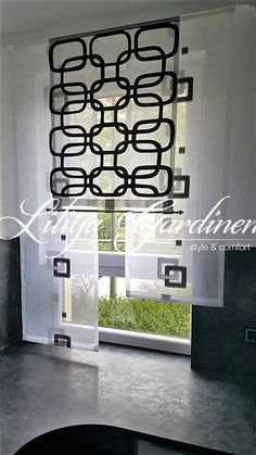moderne schiebegardinen von gardinen welt angelina auf gardinen pinterest. Black Bedroom Furniture Sets. Home Design Ideas