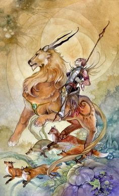 #Knight of Wands www.facebook.com/madamastrology  Fans get FREE Natal Chart Report -- pinned using BrowserBliss
