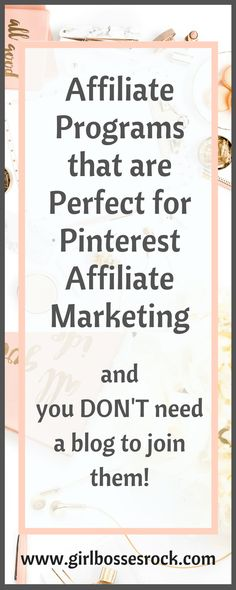 Make Money with Pinterest! This free E-course teaches you the basics of Pinterest affiliate marketing, plus get the free list of affiliate programs that are perfect for Pinterest affiliate marketing!#pinterest #affiliatemarketing #pintereststategy #affiliateprograms