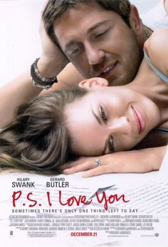 I Love You makes me cry every darn time! Darn you Gerard Butler for not only being ridiculously good looking but so good in this character. I love Gerard Butler and Hilary Swank in this amazing love story Film Music Books, Music Tv, Ps I Love You, My Love, Image Internet, Loving You Movie, Beau Film, Kino Film, Movies Worth Watching