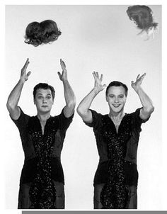 The Nifty Fifties — Tony Curtis and Jack Lemmon publicity photo for. Jack Lemmon, Golden Age Of Hollywood, Vintage Hollywood, Hollywood Stars, Classic Hollywood, Hollywood Men, Tony Curtis, Lee Curtis, Classic Movie Stars