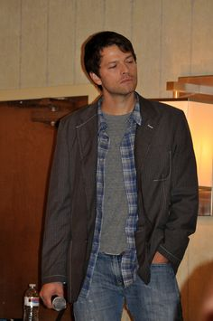 Male model level: misha Collins