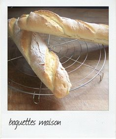 Baguettes de pain aux kitchenaid
