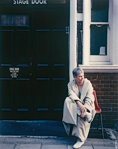 Judi Dench - I never see pics of her shoes, here's one and I knew I would like her choice of shoes!