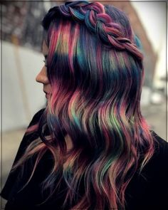 8 rainbow hair styles to give your look color hairrainbow rainbowhair 775393260827238434 Cute Hair Colors, Beautiful Hair Color, Cool Hair Color, Pinterest Hair, Mi Long, Ombre Hair, Pretty Hairstyles, Rainbow Hairstyles, Newest Hairstyles