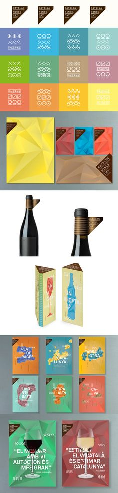 Catalan Wines by Toormix #packaging #branding #marketing PD