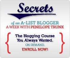 From Penelope Trunk Blog  Advice at the intersection of work and life