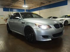 2008 BMW M5 One of the last M5s to still have BMW's incredibly powerful 5.0L V10 engine, tear up the roads (and don't go over the speed limit!) in this sleek machine. Price: $26,999 Mileage: 76,878 Miles Please visit our website for more information: directautopa.com V10 Engine, Auto Sales, Speed Limit, Bmw M5, Roads, Cars For Sale, Philadelphia, Engineering, Website
