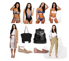 """Beach Bikinis"" by cate-jennifer on Polyvore featuring Boohoo"