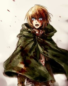 Armin Alert- Attack on Titan. I love him, without him mostly everyone would've died sooner than they did