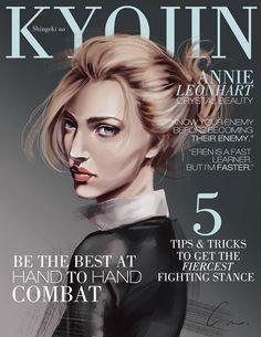SnK Magazine: Annie by putemphasis.deviantart.com on @DeviantArt