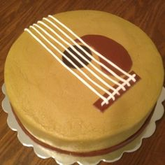 Guitar cake for Taylor's birthday?