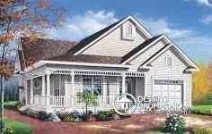 See the Southhampton Cottage Home that has 2 bedrooms and 1 full bath from House Plans and More. See amenities for Plan Cottage Style House Plans, Cottage Style Homes, Country House Plans, Cottage Design, Small House Plans, House Design, Cottage Ideas, Cottage Plan, Farm House