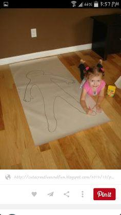 Cute Creative And Fun Preschool All About Memy Body Theme