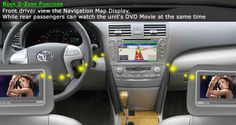 Toyota land Cruiser DVD GPS that make  your care more stylish form insife.
