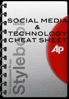 AP STYLE Social Media and Technology Cheat Sheet