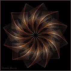 String Art Tutorials, String Art Patterns, Nail String Art, String Crafts, Arte Linear, Home Decor Wall Art, Pattern Art, Diy Art, Art Boards