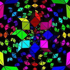colors geometry GIF by xponentialdesign Trippy Patterns, Trippy Pictures, Illusion Gif, Cool Optical Illusions, Trippy Gif, Gifs, Animation, Beautiful Gif, Environment Concept Art