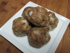 Onion Meatballs Dukan Diet Oat Bran Recipe.