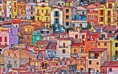 Bosa, Sardinia by Henrik Dahl Rasmussen, via 500px