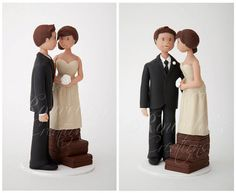 Wedding Cake Topper by Rouvelee's Creations, via Flickr