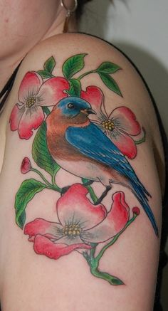 dogwood flower tattoo (19)